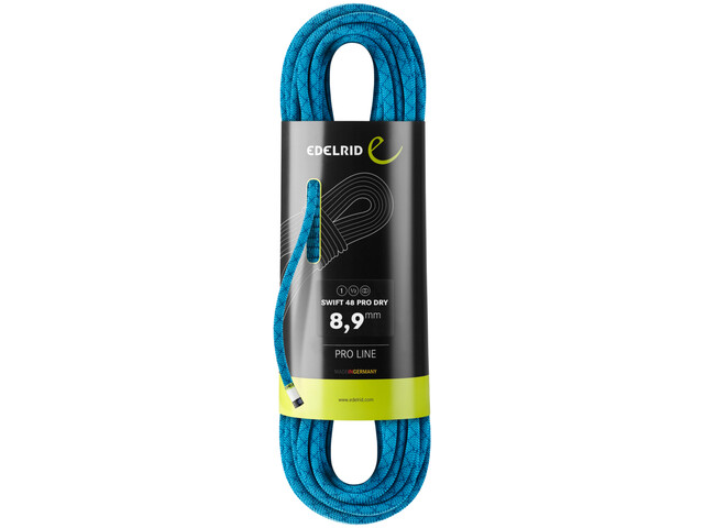 Edelrid Swift 48 Pro Dry Rope 8,9mm x 50m, icemint